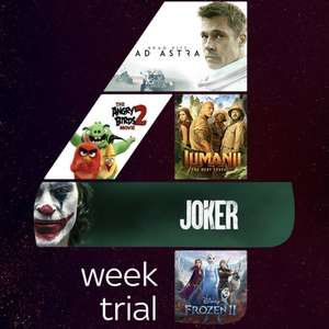 Free Sky Cinema Trial for 4 weeks - Over 1,000 movies on demand in HD (email invite)