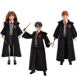 Harry Potter Dolls - Harry, Ron and Hermione - £12.49 Each With Free Delivery @ BargainMax