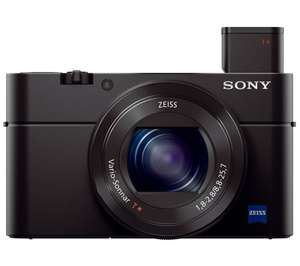 SONY Cyber-shot DSC-RX100 III High Performance Compact Camera - Black £299.97 instore @ Currys
