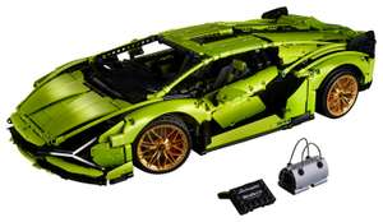 Free LEGO Technic 42107 Ducati Panigale worth £54.99 when you buy the LEGO Technic 42115 Lamborghini Sian @ Jadlam