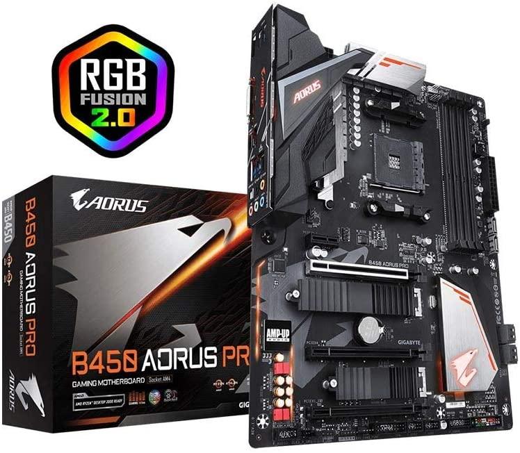 Gigabyte B450 AORUS PRO Motherboard AMD Socket AM4 AMD B450 Chipset for £84.99 delivered with code @ Box-deals / eBay