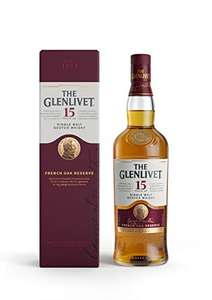 The Glenlivet 15 Year Old Single Malt Scotch Whisky, 70cl £39.99 @ Amazon