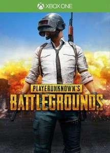 [Xbox One] Playerunknown's Battlegrounds (PUBG) - £3.74 with Gold @ Microsoft Store