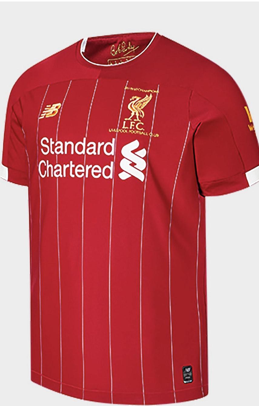 LFC 2019-2020 champions home shirt £45 @ JD Sports
