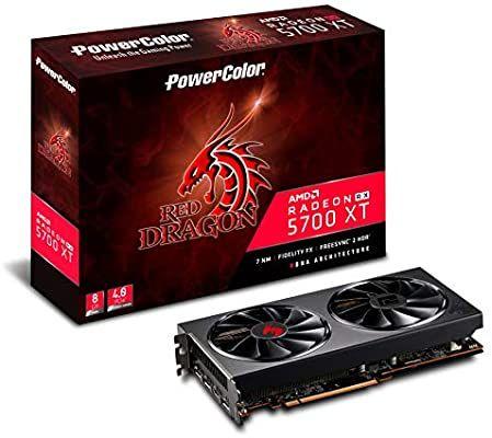 Powercolor AMD Radeon RX 5700 XT Red Dragon 8GB GDDR6 £339.99 - Amazon
