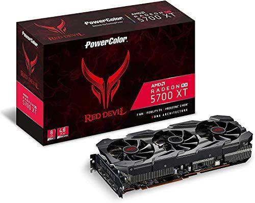 PowerColor AMD Radeon RX 5700 XT Red Devil 8GB GDDR6 HDMI/3xDP Video Card £379.99 - Amazon