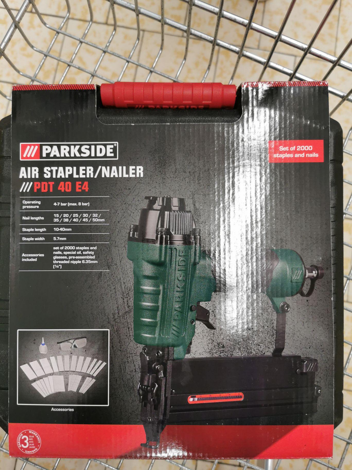 Air stapler/nailer 9.99 instore @ Lidl Bolton