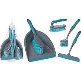 Koopman 5 Pieces Cleaning Set (Turquoise) £3.50 Free Collection @ Robert Dyas