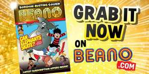 Golden Beano Issue 5 - full size 36 page Beano Comic now available for free, digital & printable @ Beano