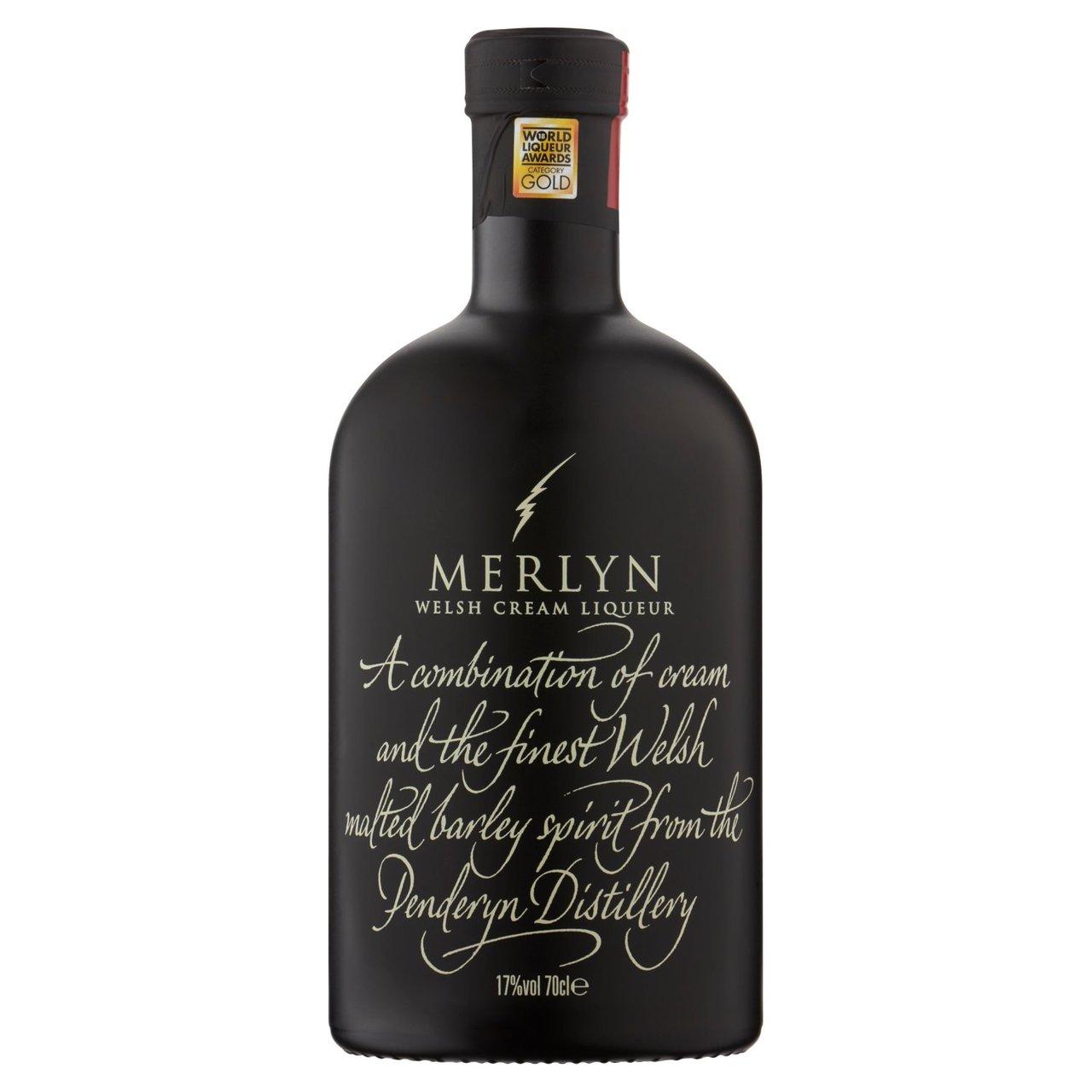 Merlyn Welsh Cream Liqueur 70cl - £10 @ Morrisons