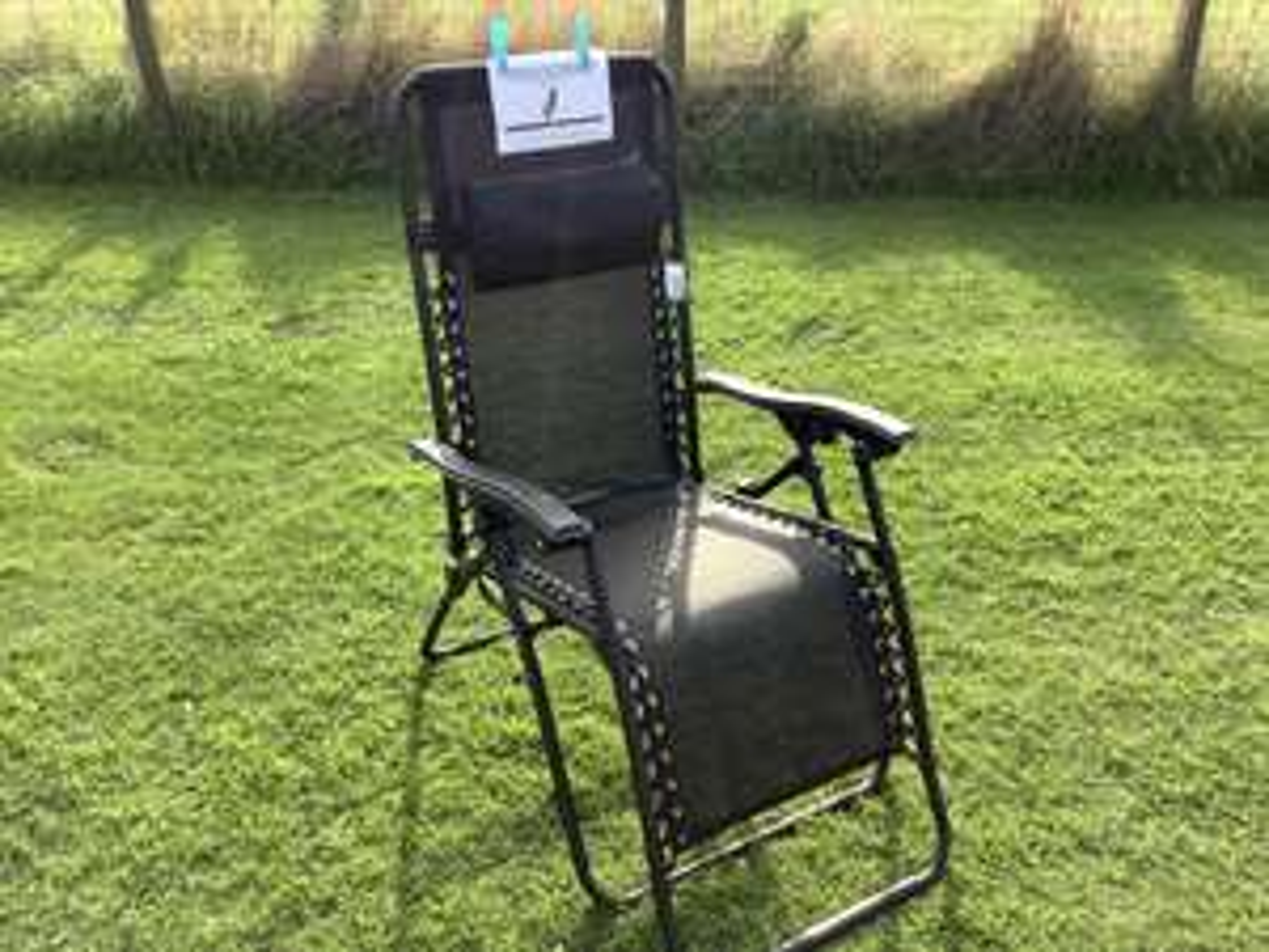 Zero Gravity Chair Tesco at Castle Douglas £30 each or 2 for £50