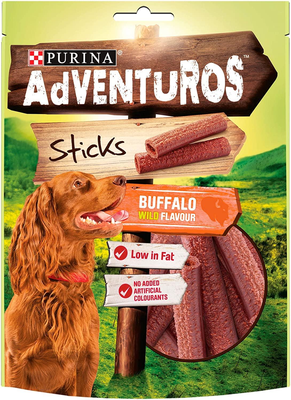 Purina Adventuros Buffalo Sticks - £0.96 on Prime / £5.45 Non Prime @ Amazon
