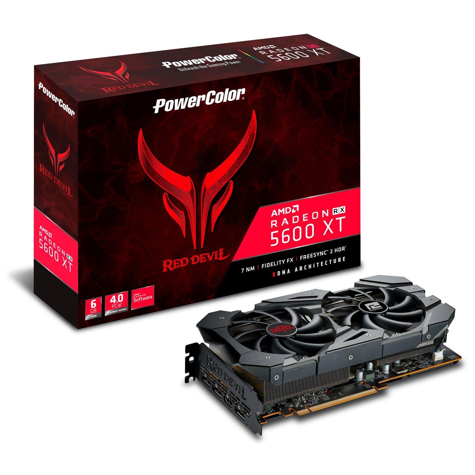 PowerColor Radeon RX 5600 XT Red Devil 6GB + free game bundle - £316.14 delivered @ CCLOnline