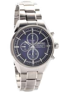 Seiko SSC365P1 Titanium Solar Watch £169 delivered @ FHinds