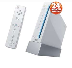 Nintendo Wii Console (Discounted & Pre-Owned White) - £30 with 2 years warranty @ CeX
