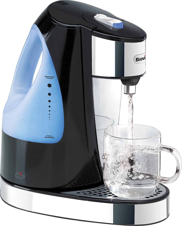 Breville HotCup Hot Water Dispenser, 3 KW Fast Boil, 1.5 Litre, Gloss Black [VKJ142] £30 at Amazon