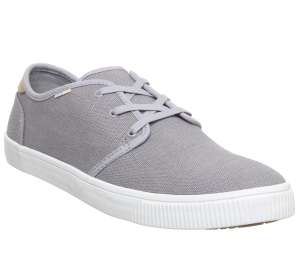 Toms Carlo Trainers Drizzle Grey £15 (+ £3.50 P&P or free delivery to store) @ Office