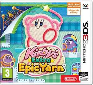 Kirby's Extra Epic Yarn 3DS £16.99 (free click & collect) @ Argos