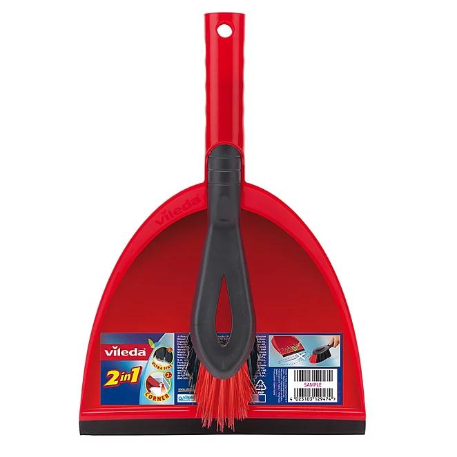 Asda - Vileda 2 In 1 Dustpan & Brush Set - £2.50
