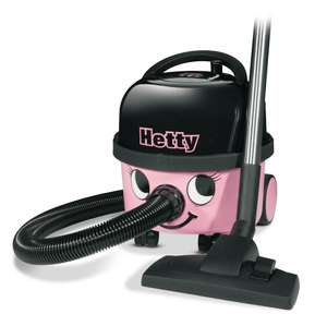 Refurbished Numatic Hetty HET160-11 6l Capacity Bagged Cylinder Vacuum Cleaner Hoover - £78.99 Delivered @ directvacuums.co.uk