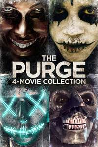 The Purge: 4-Movie Collection (4K) - £8.99 @ iTunes