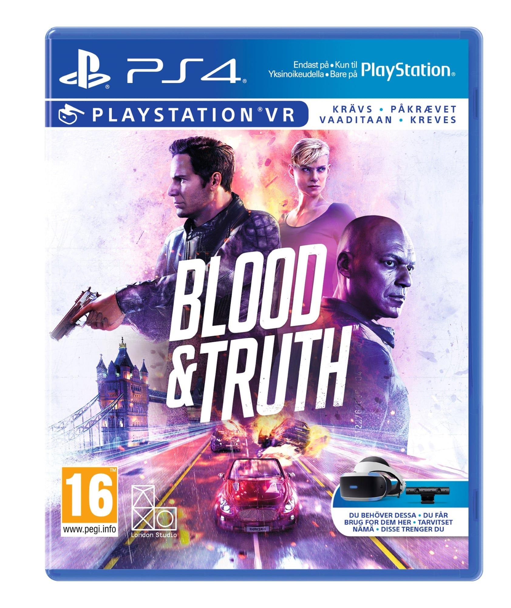 Blood and Truth PS4 (PSVR) - £11.95 Delivered @ Coolshop