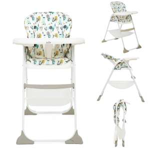 Joie Mimzy Snacker Highchair Woodland Mint £39.95 + £5.95 Delivery ( Free on orders over £49.99 ) From Online4Baby