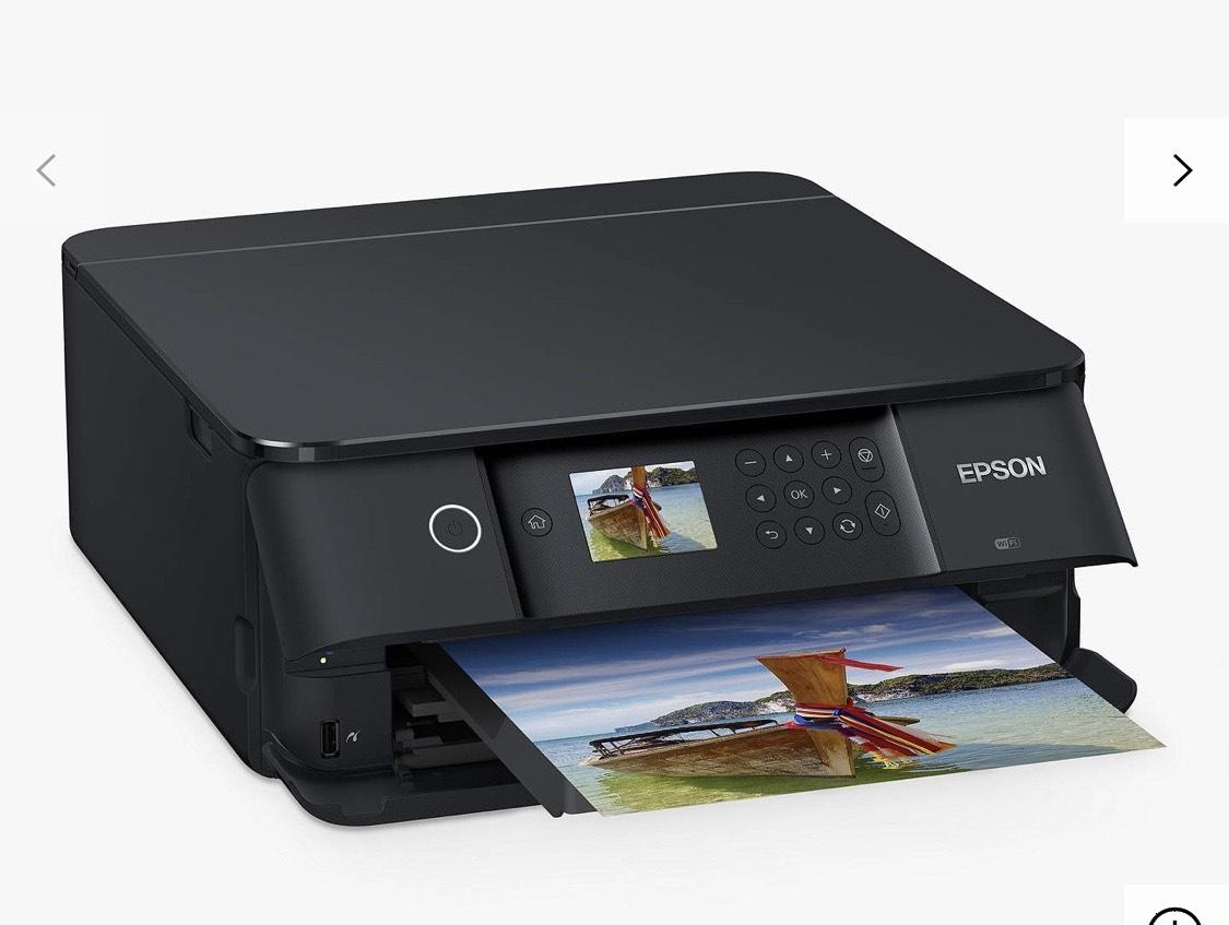 Epson Expression Premium XP-6100 Wi-Fi All-In-One Printer, Black £89.99 @ John Lewis & Partners