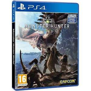 Moster Hunter World (PS4) £8 preowned in store (+£1.95 delivered) @ CEX