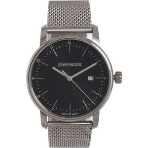 Wenger Stainless Steel Analogue Watch £59.99 + Free Click & Collect @ TK Maxx ( + more from £49.99)