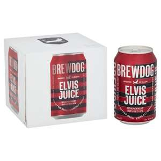 Asda - 2 x Brewdog Elvis Juice Grapefruit Infused IPA 4 Pack for £9 (other varieties included)