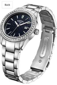 Rotary ladies blue aventurine effect watch £64.76 - Sold by OLEM / Fulfilled by Amazon