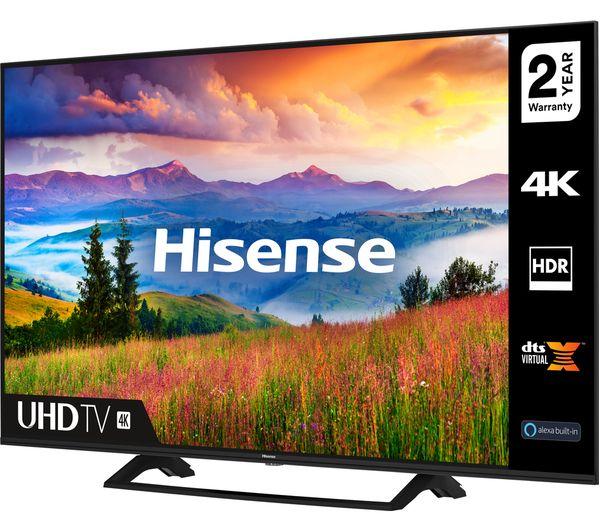 "HISENSE 43A7300FTUK 43"" Smart 4K Ultra HD HDR LED TV - £299 delivered @ Currys"