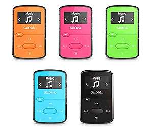 SanDisk Sansa Clip Jam MP3 Player 8GB (5 colours) starting from £22.59 at Picstop