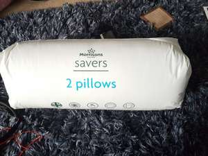 Morrison's pillows £1 Instore (Rubery, Worcestershire)