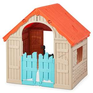 Keter Wonderfold Plastic Playhouse for £33 @ B&Q (free Click & Collect) Limited stock