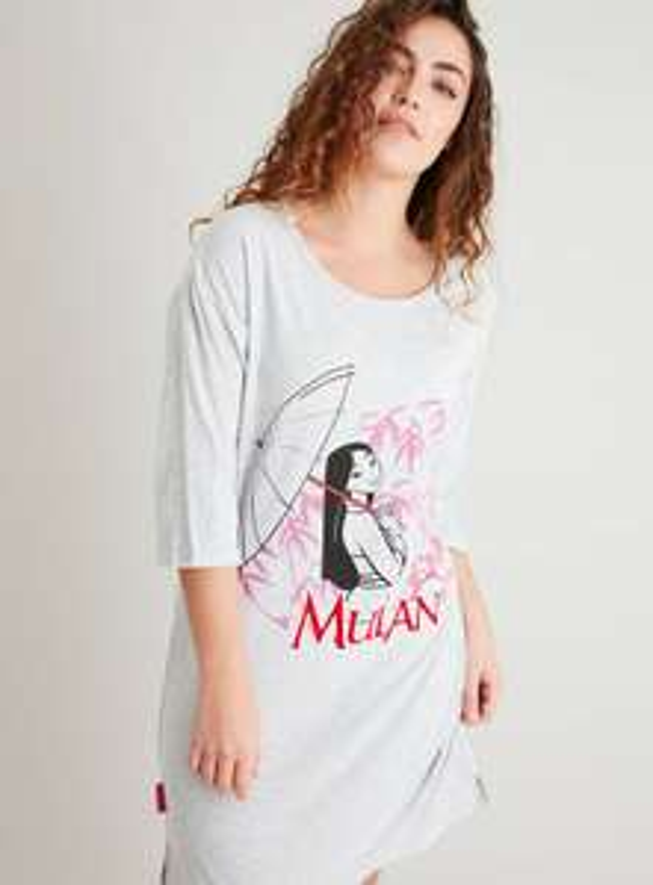 Disney Mulan Grey Marl Nightdress £6 free click and collect at Argos