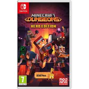 Minecraft Dungeons: Hero Edition (PS4 /Switch) - £22.85 Delivered (Preorder) @ Simply Games
