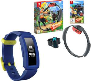 [Nintendo Switch] Ring Fit Adventure & Fitbit Ace 2 Kid's Fitness Tracker Bundle - £94.99 // W/FitBit Charge 4 - £154 With Code @ Currys
