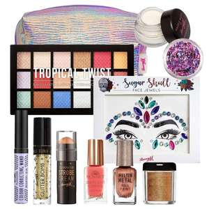 Tropical Bronze Makeup Goody Bag - £17.00 using code + £2.50 delivery @ Barry M Shop