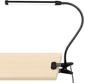 Woputne USB dimmable LED clamping desk lamp with three light modes for £10.19 Prime delivered (or +£4.49) @ Semlos UK fulfilled by Amazon