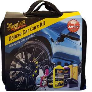 Meguiar's Deluxe Car Cleaning Kit @ Amazon - £12 delivered (Prime) £16.49 (Non Prime)