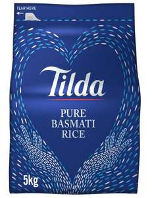 Tilda basmati rice 5kg £6.50 @ Marks & Spencer instore