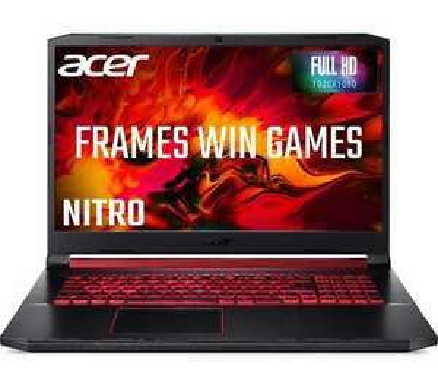 "ACER Nitro 5 17.3"" Gaming Laptop - Intel Core i5 GTX 1650 256 GB SSD £664.05 - Currys eBay"