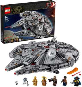 LEGO 75257 Star Wars Millennium Falcon Set with Finn, Chewy, Lando, Boolio, C-3PO, R2-D2 and D-O for £112.97 delivered @ Amazon France
