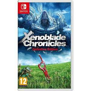 Xenoblade Chronicles Definitive Edition (Nintendo Switch) - £34.96 // Ring Fit Adventure - £64.20 - Delivered With Code@ AO/eBay