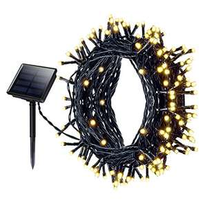 Mpow 200 LED Fairy Lights 8 Modes 72ft Fairy Starry Lights IP65 Warm Light £10.99 (+£4.49 Non Prime) Sold by Litjoy and Fulfilled by Amazon