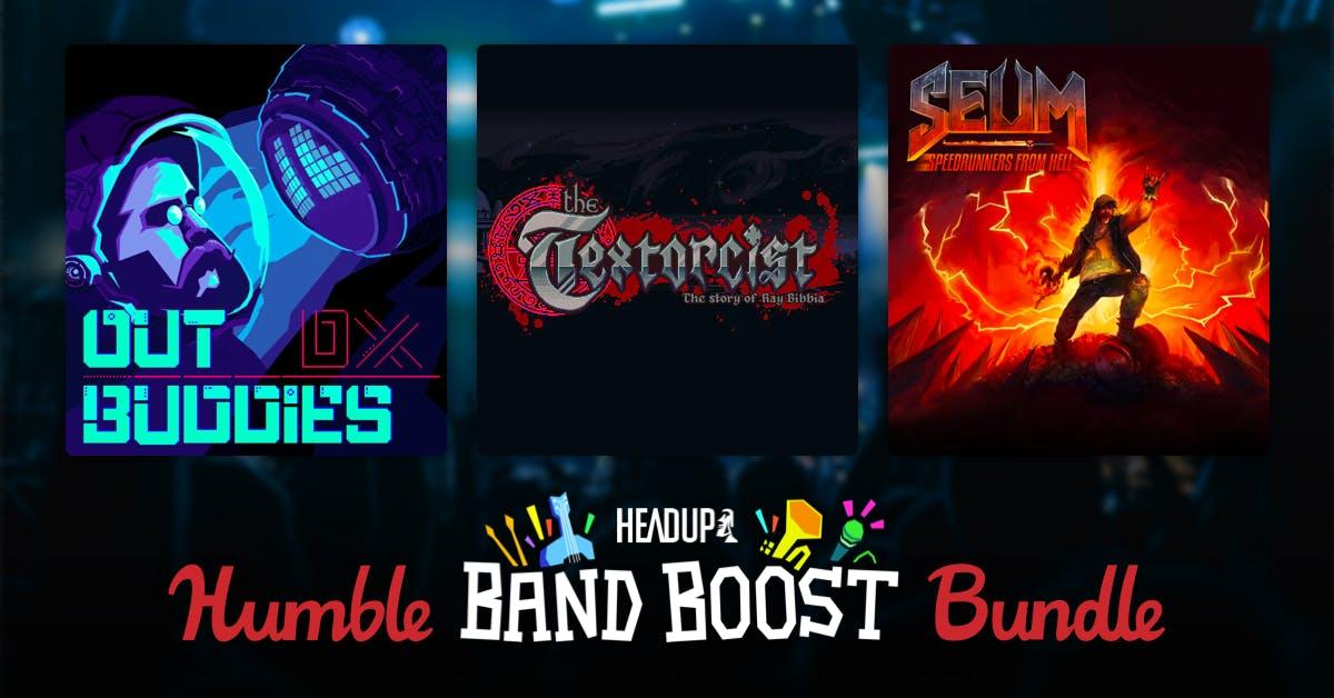 HUMBLE HEADUP GAMES BAND BOOST BUNDLE (PC STEAM) 76p