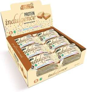 Indulgence high protein bars 12 X 50g at Bodybuilding Warehouse for £10.78 delivered