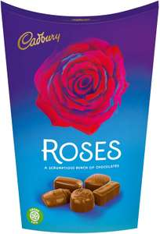 Cadbury Roses Chocolate Carton, 186g £2 + £4.49 Non Prime at Amazon